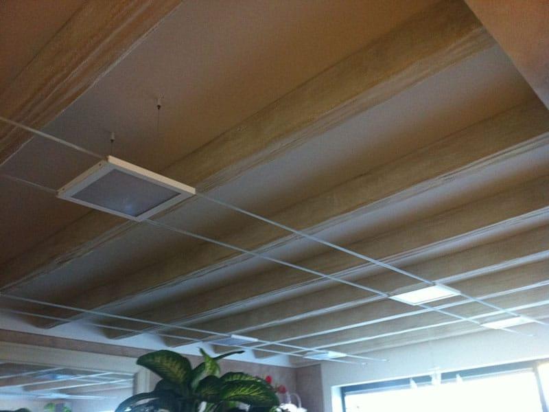 Travi in finto legno lavorazioni polistirolo espanso lape