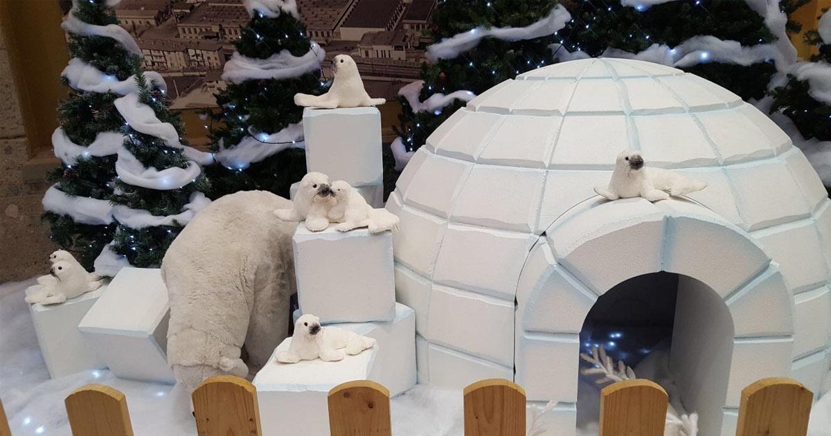 decorazioni natalizie in polistirolo